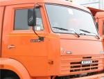 КамАЗ загорелся на трассе в Восточном Казахстане, водитель получил ожоги
