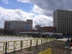 В Усть-Каменогорске протестуют сотрудники диагностического центра (+Видео)