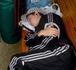 В Семее воришка уснул на месте преступления