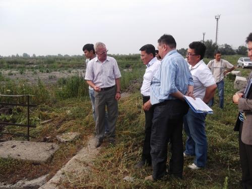 (+Фото) Серик Таукебаев посетил очистные сооружения предприятия «Өскемен Водоканал»