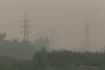 Семей окутал смог от лесных пожаров в России