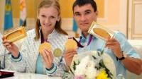 Олимпийским чемпионам Сапиеву и Рыпаковой досрочно присвоены капитанские погоны