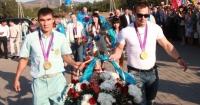 Олимпийцы в Усть-Каменогорске