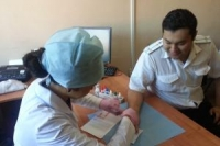 Усть-каменогорские прокуроры сдали кровь для больных гемофилией детей