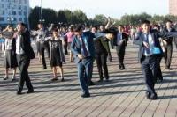 В Семее сотрудники акимата провели массовую зарядку
