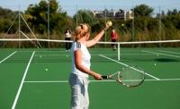 Усть-Каменогорский теннисный центр обрел открытые корты с «олимпийским» покрытием
