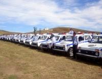 В ВКО ключи от 56 автомобилей «Нива» вручены участковым инспекторам