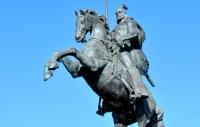 В Тарбагатайском районе открылся памятник Кабанбаю