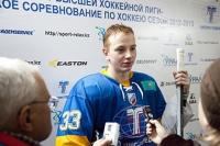 Юрий Сергиенко первую шайбу посвятил своему деду