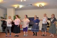 В Семейском доме престарелых и инвалидов открыли танцевальный клуб