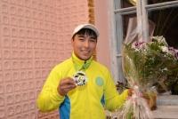 Рустам Маликов вернулся в Усть-Каменогорск обладателем золотой и серебряной медалей Кубка мира по армрестлингу