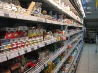 Продовольственные товары за год подорожали на 4,8%