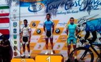 Спасатель из ВКО Алексей Лялько завоевал «бронзу» в велогонке Азии