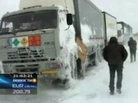 На востоке Казахстана метели и снегопады сменились проливным дождем