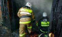 В ВКО на месте пожара в частном доме обнаружен труп мужчины