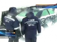 В Восточном Казахстане бушует непогода: гололёд и страшные морозы