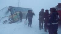 Пассажирский автобус с 39 пассажирами съехал в кювет в ВКО