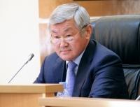 Акиму Восточно-Казахстанской области Сапарбаеву вручена высшая награда НДП «Нур Отан»