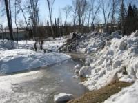 Штормовое предупреждение объявлено в ВКО 6 марта из-за интенсивного таяния снега