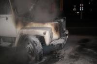 В Усть-Каменогорске во время движения загорелся автомобиль, предназначенный для обогрева людей, есть пострадавшие