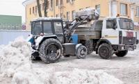 С территории Усть-Каменогорска вывезено уже 800 кубометров снега
