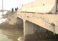 В Семее обрушился мост