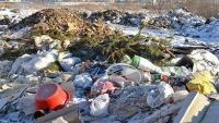 В Усть-Каменогорске в черте города появилась стихийная свалка