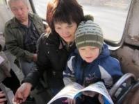 В Усть-Каменогорске возобновил работу «Читающий трамвайчик»
