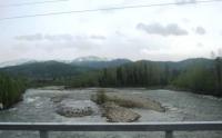 Уровень воды в реке Ульба повышается