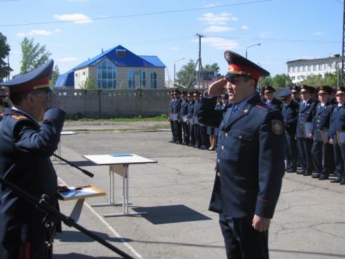 (+Фото) Звание «лейтенант» получили 86 полицейских Восточно- Казахстанской области.