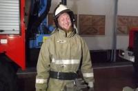 (+Фото) Английский пожарный побывал в гостях у коллег в Семее