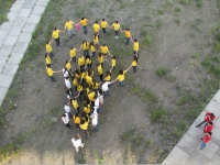 (+Фото) «Защитим сосновый бор!» - флэш-моб в Семее