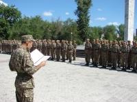 (+Фото) В Семее курсанты военно-технической  школы приняли присягу.