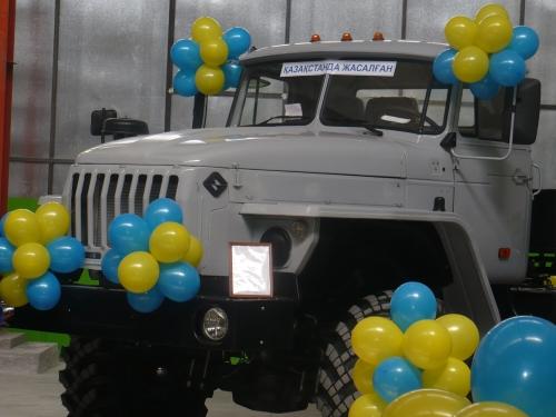 (+Фото) В Семее будут собирать большегрузные автомобили «Урал»
