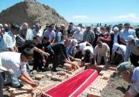 (+Фото) В ВКО перезахоронили останки сакского царя