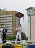 (+Фото) В канун дня Столицы в  Усть-Каменогорске отметили День молодежи