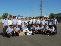 В Усть-Каменогорске прошла полицейская эстафета