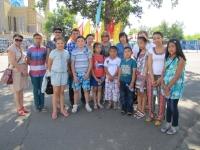 В Усть-Каменогорске в преддверии Дня полиции встретились с детьми сотрудников, погибших при исполнении служебного долга