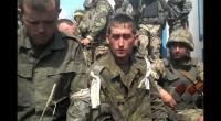 (+Видео) СБУ показала видео с пленными российскими танкистами